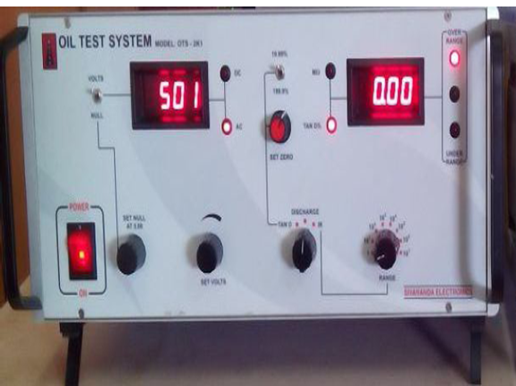Manual Oil Test System