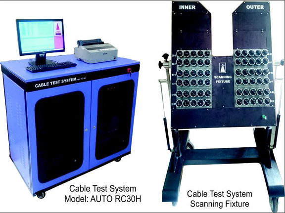 Automatic Cable Test System