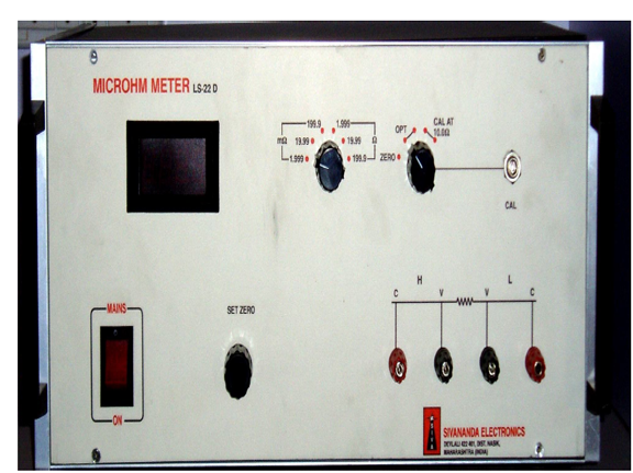 microhm meter